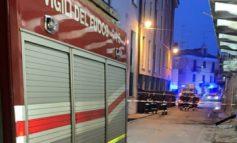 Crolla edificio, paura a Nizza Monferrato