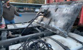 Furto di gasolio: arrestati due camionisti dalla Polstrada di Ovada
