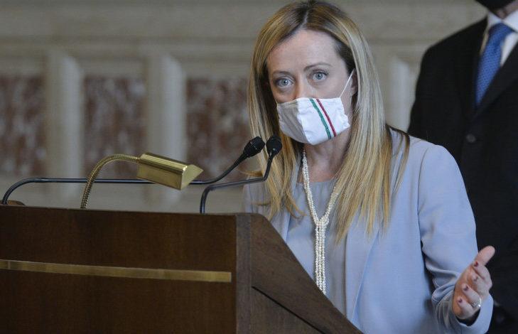"""Dopo le accuse de """"La Repubblica"""", Meloni: """"Macchina del fango contro l'unico partito di opposizione"""""""