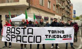 Da Torino Tricolore: Torino, 10 aprile - presidio oggi pomeriggio, all'angolo tra via Martorelli e via Bairo, contro lo spaccio
