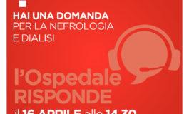 Da Ospedale Alessandria: l'ospedale risponde in diretta da Nefrologia e Dialisi