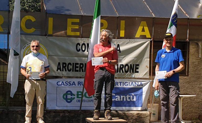 """Tiro con l'arco: altre due medaglie per il """"Città della Paglia"""", Federico Panico centra il suo settimo podio di fila"""
