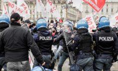 Primo Maggio a Torino: antagonisti allontanati dalla Polizia