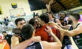 Pallacanestro Serie A2 playoff: Bertram Derthona batte Roma, sabato la sfida decisiva