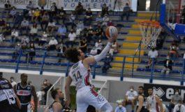 Pallacanestro Serie A2 semifinale playoff: Derthona batte Roma al termine di una sfida equilibrata e si aggiudica Gara 1