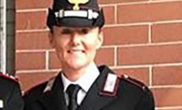 Dall'Arma dei Carabinieri: domani a Roma sarà premiata la Maresciallo Brero