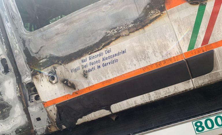 Se un'ambulanza va a fuoco non è normale