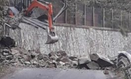 Di nuovo interrottala statale del Turchino per caduta massi