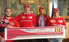 Domenica a Casale le Ferrari sfilano nel centro storico