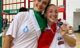Pallavolo femminile: due alessandrine campionesse d'Italia nella categoria Under 15