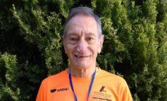 Vincenzo La Camera dell'Atletica Novese record italiano a Firenze ai regionali Masters over 75