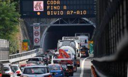La Liguria è isolata, le autostrade sono al collasso