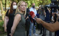 Nei sondaggi quello della Meloni è il primo partito d'Italia