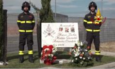 Dedicata una via e una rotatoria ai tre pompieri eroi deceduti nell'esplosione di Quargnento di due anni fa