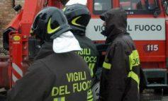 Escavatore prende fuoco in una galleria del Terzo Valico a Fraconalto