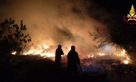 A Lerma prende fuoco un bosco: pompieri impegnati per tre ore