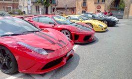 """Domenica il 1° """"Memorial Sergio Cassano"""": a Valenza presenti più di 30 Ferrari"""