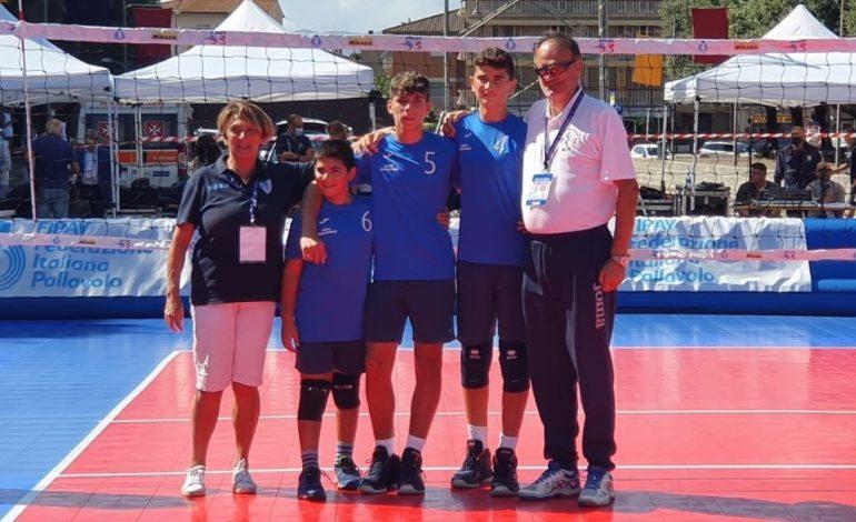 Pallavolo Under 12 Maschile tre contro tre: Novi Pallavolo si impone sul Colombo Volley Genova ed è campione d'Italia