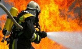 A fuoco un'abitazione a San Giuliano Vecchio: due persone ferite