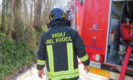 Incendio alla discarica Bazzani di Casale